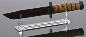 Messerständer aus transparentem Acrylglas