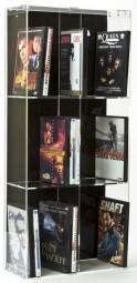 DVD Modulregal 2-spaltig, 33,5 x 75 cm