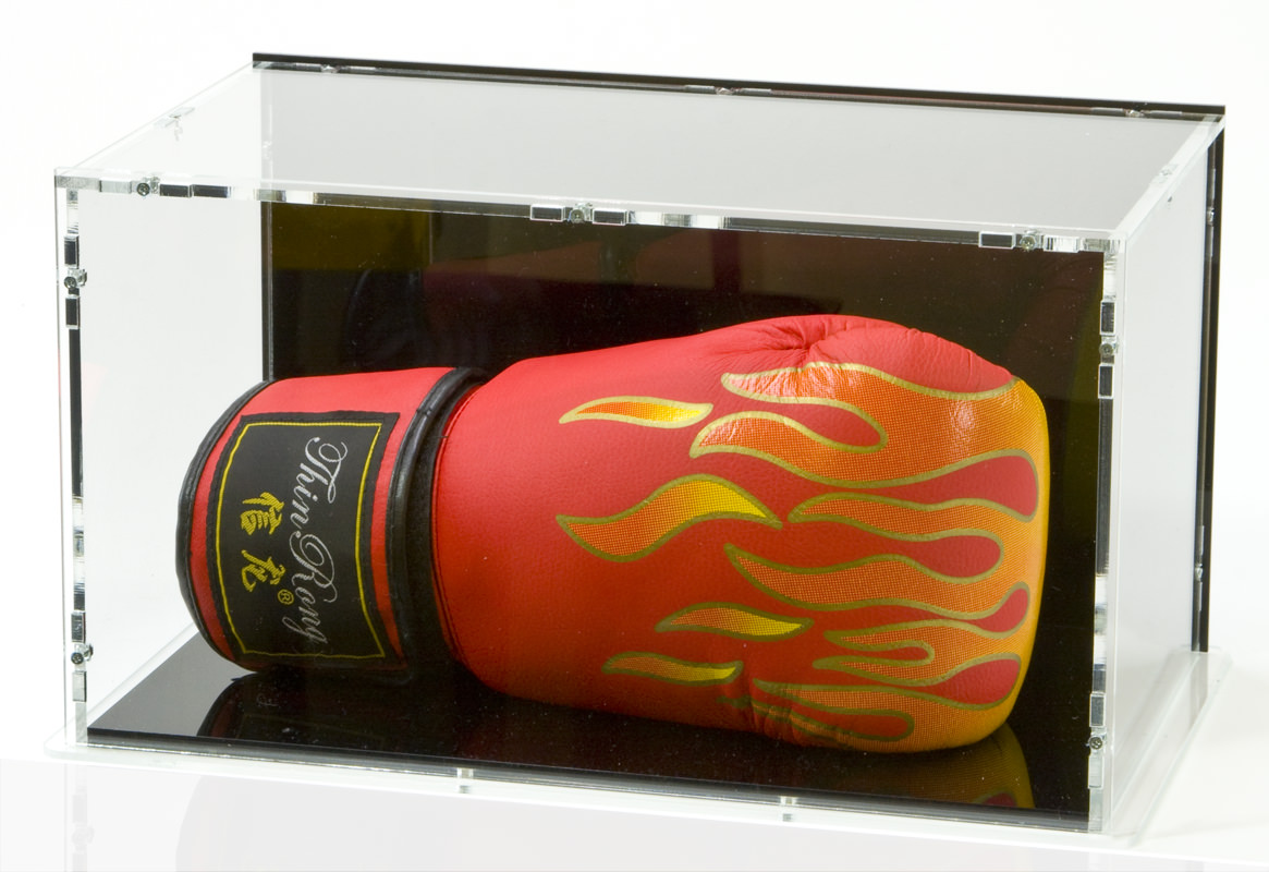 Lying Boxing Glove Display Case