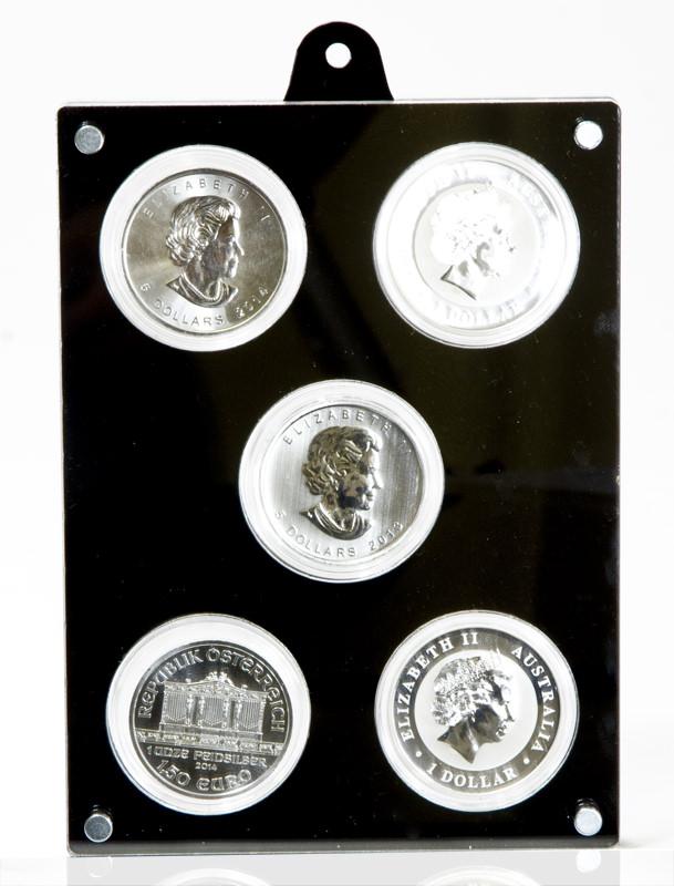 Gegenüberliegende Seite des Münzrahmens