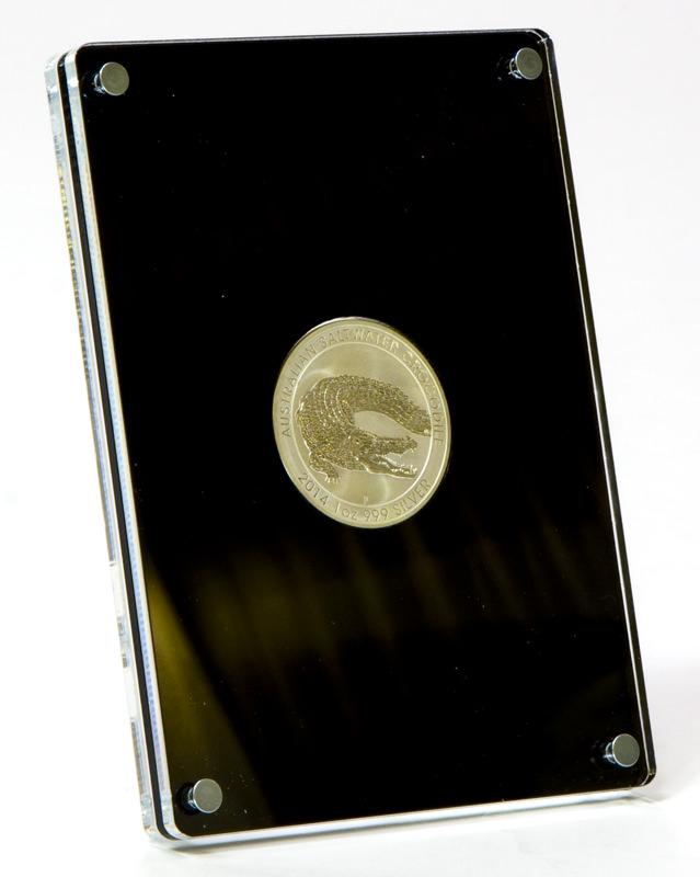 Münzrahmen für 1oz. Silbermünzen