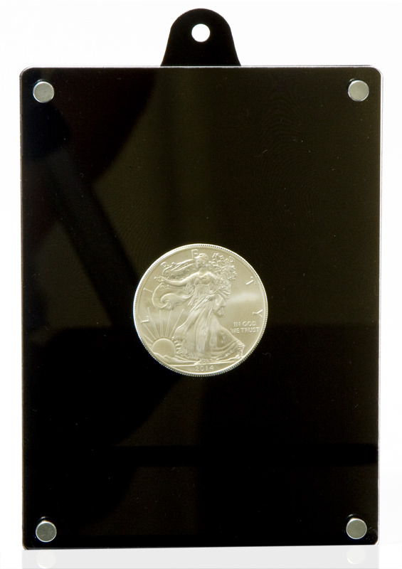 Coin case for 1oz AG