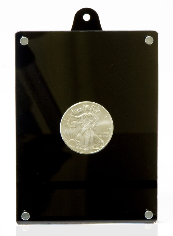 Coin case for 1oz silver coins