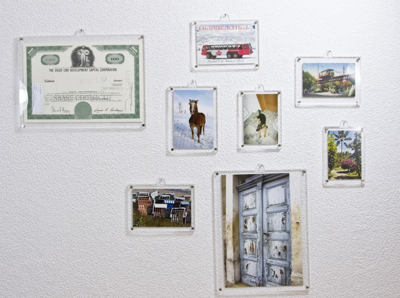 Galerieansicht einiger Magnetrahmen