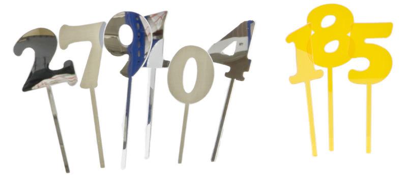 Mehrere Zahlen-Stecker