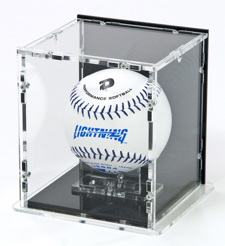 Die Softball Vitrine