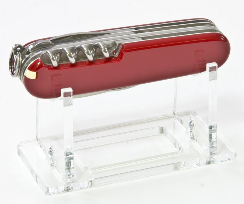 Der Taschenmesser-Ständer einzeln