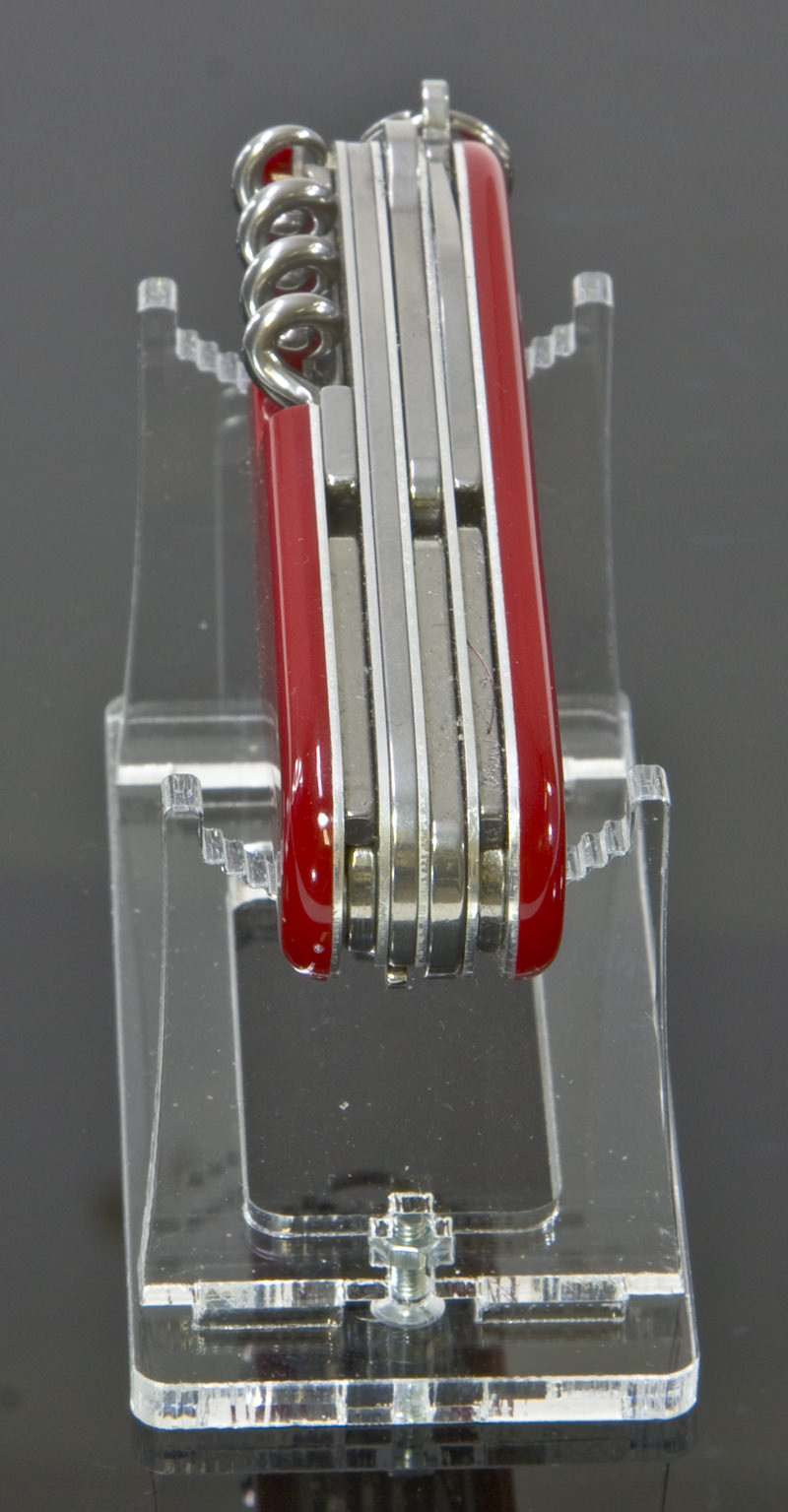 Clear Acrylic Pocket Knife Stand Knives Display Cases