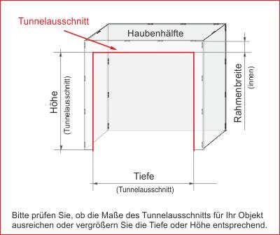 Tunnelausschnitt