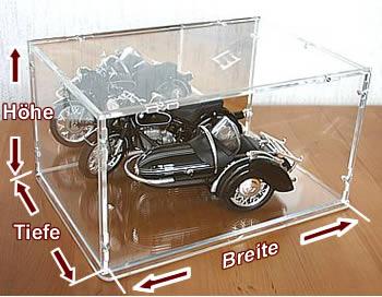 Plexiglashaube Selber Bauen Plexiglasvitrine Einfach Und Billig